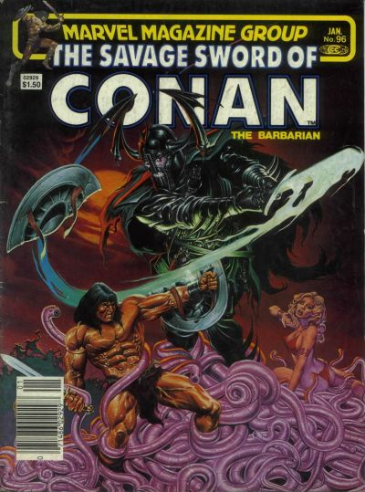 Cover for The Savage Sword of Conan (Marvel, 1974 series) #96