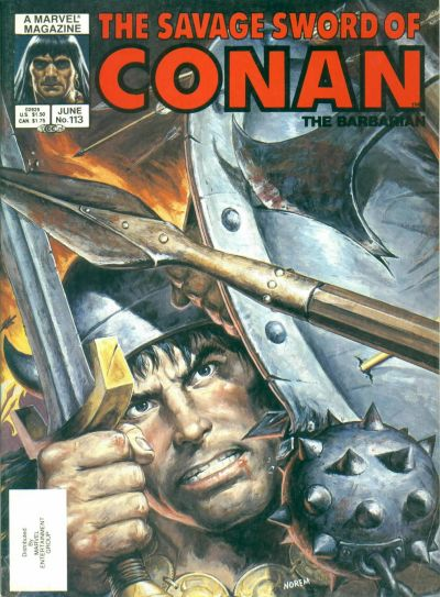 Cover for The Savage Sword of Conan (Marvel, 1974 series) #113