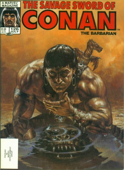 Cover for The Savage Sword of Conan (Marvel, 1974 series) #126