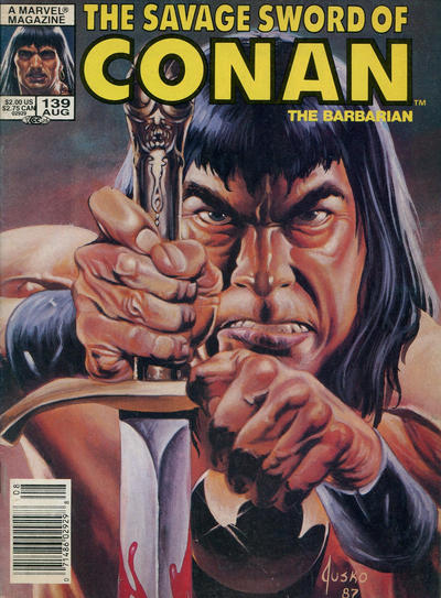 Cover for The Savage Sword of Conan (Marvel, 1974 series) #139