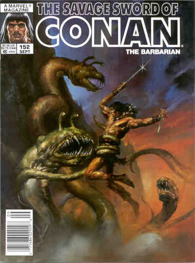 Cover for The Savage Sword of Conan (Marvel, 1974 series) #152
