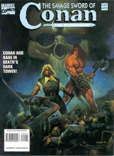 Cover for The Savage Sword of Conan (Marvel, 1974 series) #220