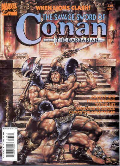 Cover for The Savage Sword of Conan (Marvel, 1974 series) #228