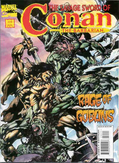 Cover for The Savage Sword of Conan (Marvel, 1974 series) #235