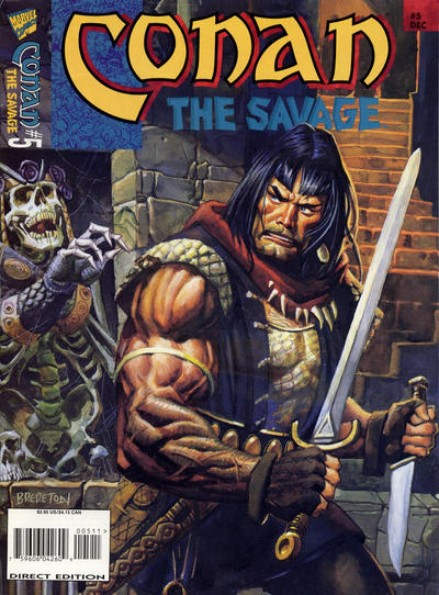 Cover for Conan the Savage (Marvel, 1995 series) #5