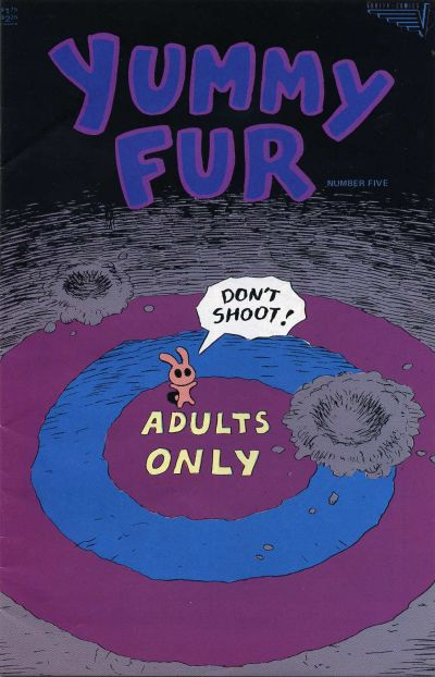 Cover for Yummy Fur (Vortex, 1986 series) #5