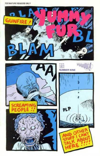 Cover for Yummy Fur (Vortex, 1986 series) #9