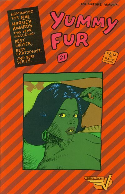 Cover for Yummy Fur (Vortex, 1986 series) #21