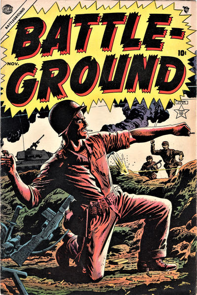 Cover for Battleground (Marvel, 1954 series) #2