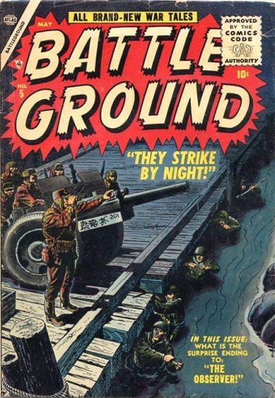 Cover for Battleground (Marvel, 1954 series) #5