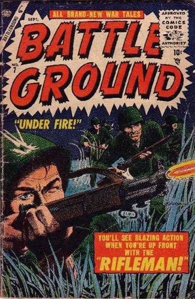 Cover for Battleground (Marvel, 1954 series) #7