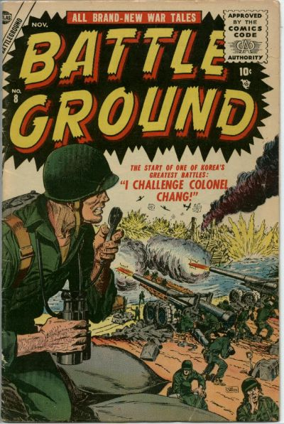 Cover for Battleground (Marvel, 1954 series) #8