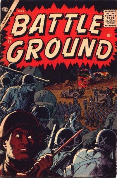 Cover for Battleground (Marvel, 1954 series) #16