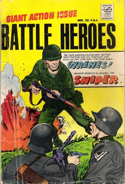 Cover for Battle Heroes (Stanley Morse, 1966 series) #2