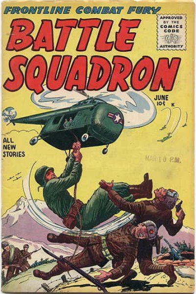 Cover for Battle Squadron (Stanley Morse, 1955 series) #2