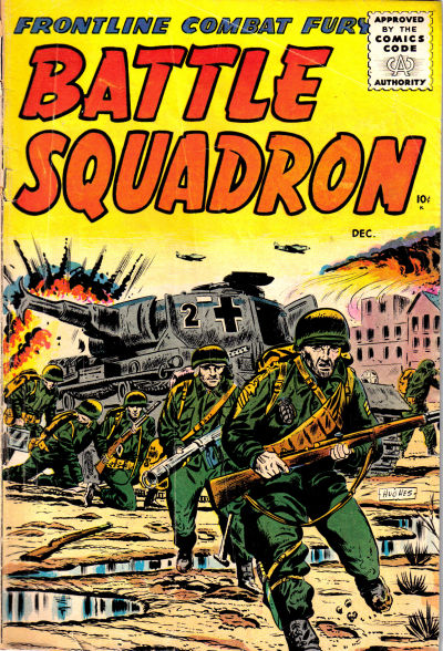 Cover for Battle Squadron (Stanley Morse, 1955 series) #5