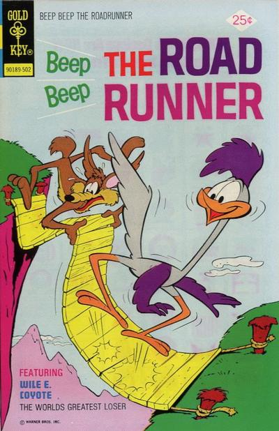 Cover for Beep Beep the Road Runner (Western, 1966 series) #48