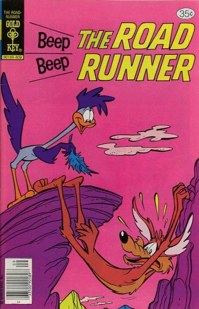 Cover for Beep Beep the Road Runner (Western, 1966 series) #73 [Gold Key]