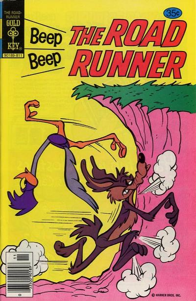 Cover for Beep Beep the Road Runner (Western, 1966 series) #75 [Gold Key]