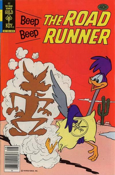 Cover for Beep Beep the Road Runner (Western, 1966 series) #82 [Gold Key]