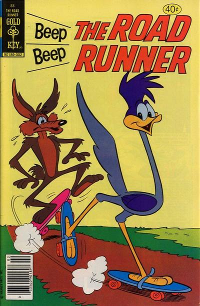 Cover for Beep Beep the Road Runner (Western, 1966 series) #88 [Whitman Variant]