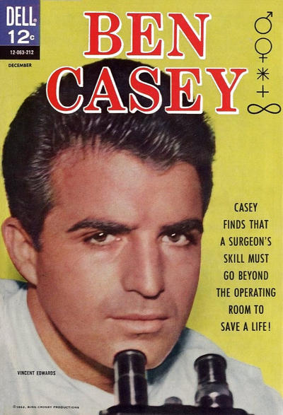 Cover for Ben Casey (Dell, 1962 series) #3
