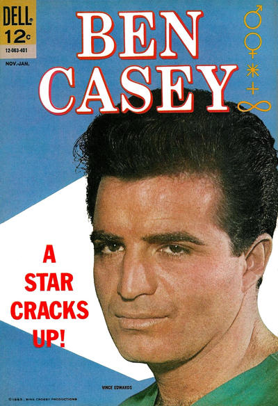 Cover for Ben Casey (Dell, 1962 series) #8