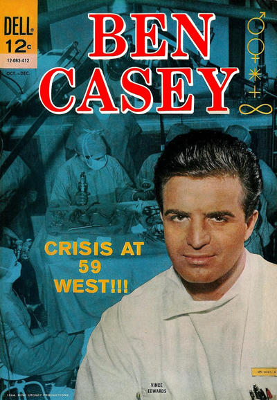 Cover for Ben Casey (Dell, 1962 series) #9