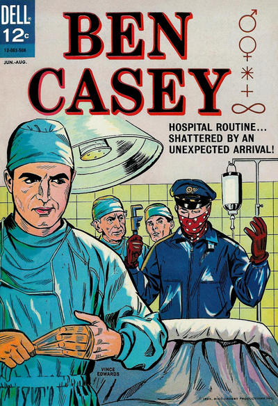 Cover for Ben Casey (Dell, 1962 series) #10