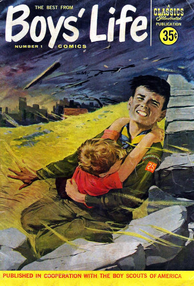 Cover for The Best from Boys' Life (Gilberton, 1957 series) #1