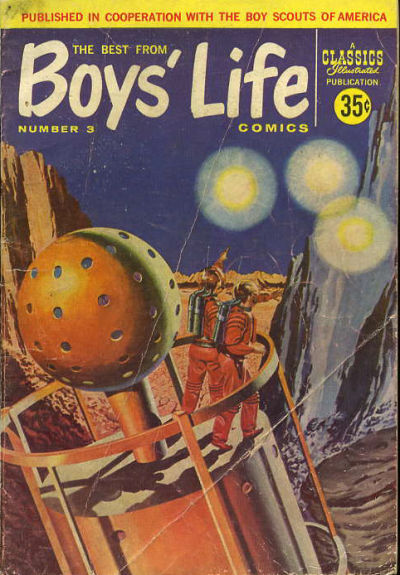 Cover for The Best from Boys' Life (Gilberton, 1957 series) #3