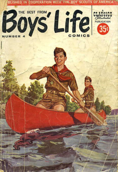 Cover for The Best from Boys' Life (Gilberton, 1957 series) #4