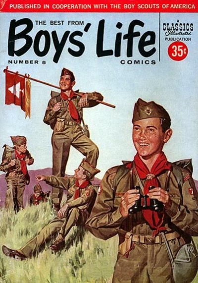 Cover for The Best from Boys' Life (Gilberton, 1957 series) #5