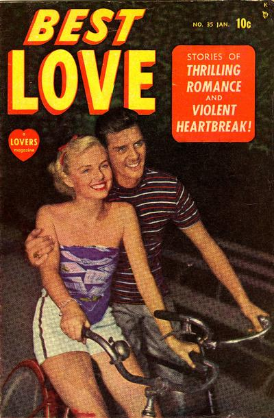 Cover for Best Love (Marvel, 1949 series) #35