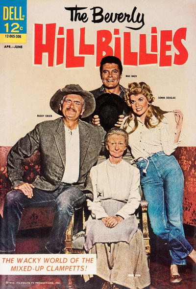 Cover for Beverly Hillbillies (Dell, 1963 series) #1