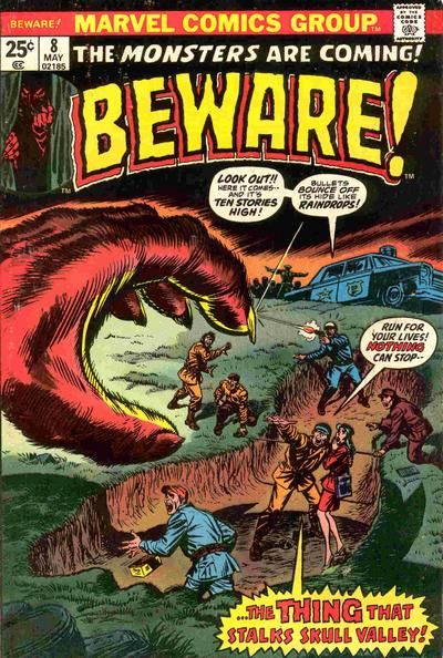 Cover for Beware (Marvel, 1973 series) #8