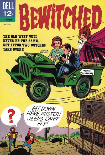 Cover for Bewitched (Dell, 1965 series) #2