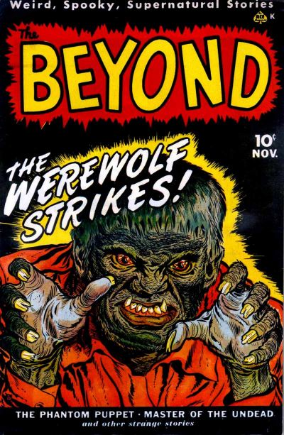 Cover for The Beyond (Ace Magazines, 1950 series) #1