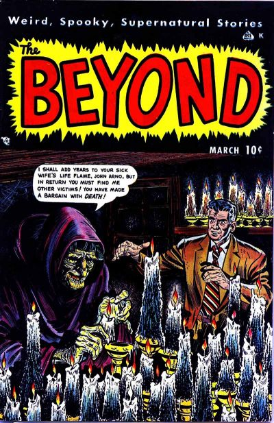 Cover for The Beyond (Ace Magazines, 1950 series) #3