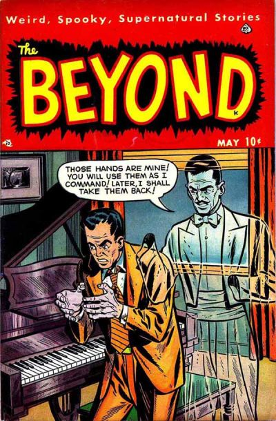 Cover for The Beyond (Ace Magazines, 1950 series) #4