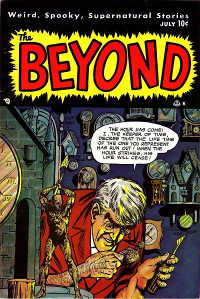 Cover for The Beyond (Ace Magazines, 1950 series) #5
