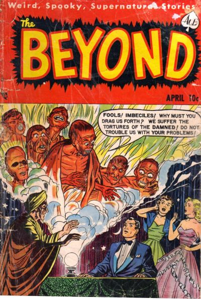 Cover for The Beyond (Ace Magazines, 1950 series) #10