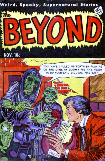 Cover for The Beyond (Ace Magazines, 1950 series) #17