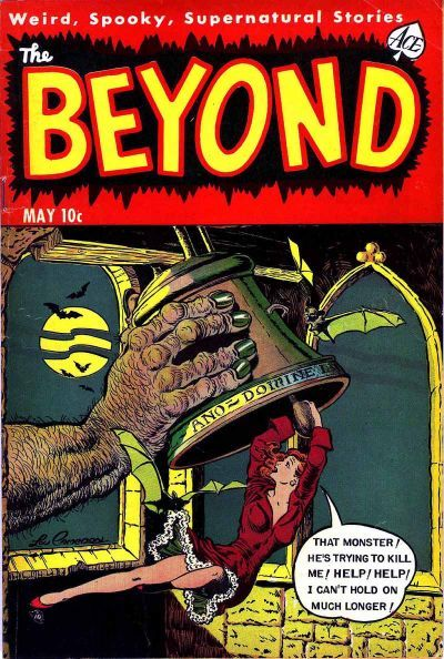 Cover for The Beyond (Ace Magazines, 1950 series) #20