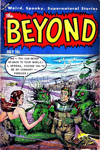 Cover for The Beyond (Ace Magazines, 1950 series) #21