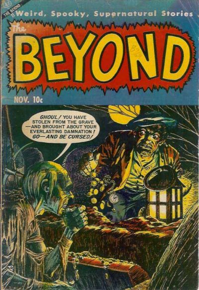 Cover for The Beyond (Ace Magazines, 1950 series) #23