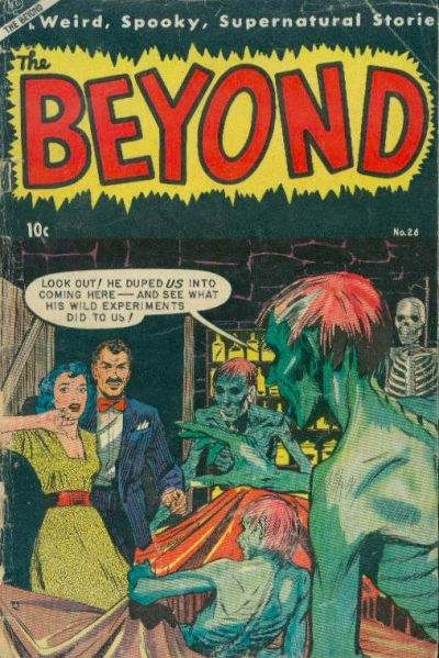 Cover for The Beyond (Ace Magazines, 1950 series) #26