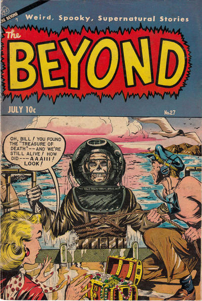 Cover for The Beyond (Ace Magazines, 1950 series) #27