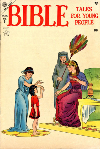 Cover for Bible Tales for Young People (Marvel, 1954 series) #5
