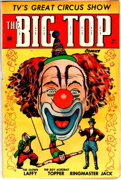 Cover for The Big Top (Toby, 1951 series) #1